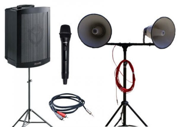 School Portable PA Pack